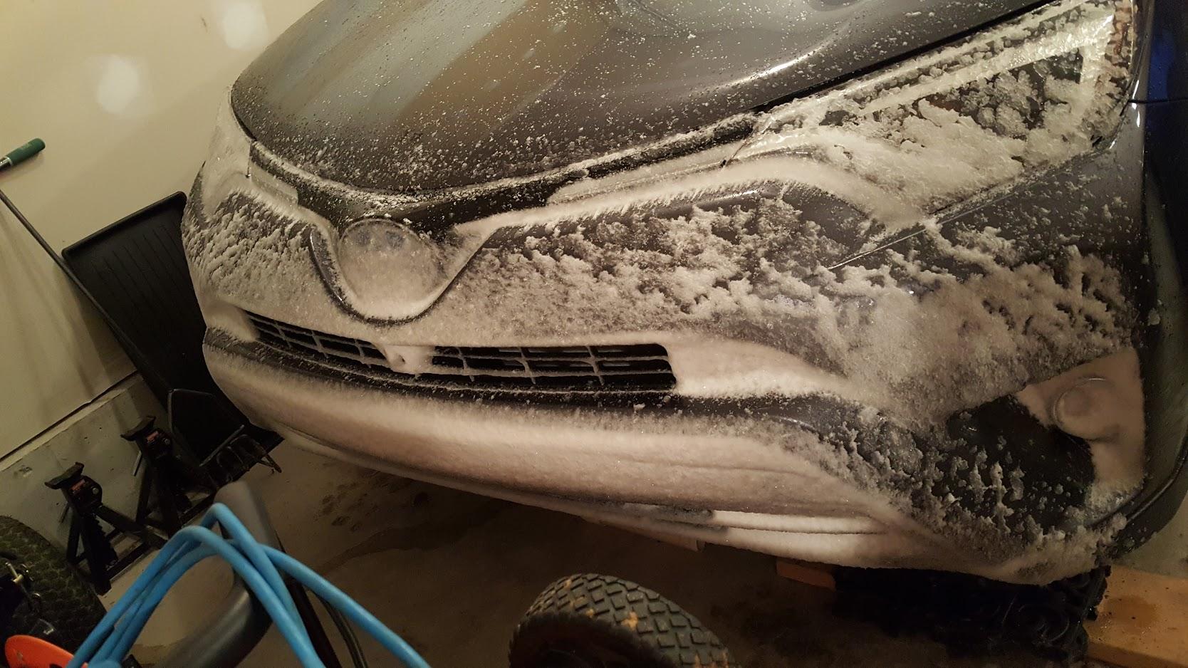 The sensors do not like snow  | Toyota RAV4 Forums