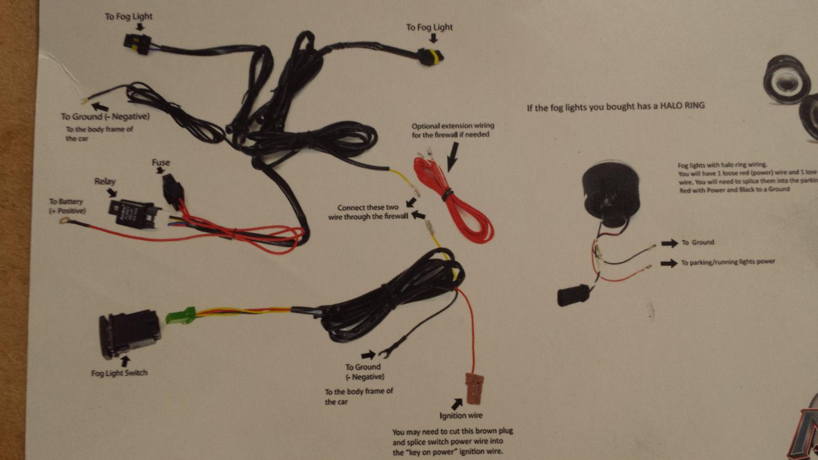 How to add Foglights using OEM Wiring on the RAV4.3   Page ... How To Make Your Own Wiring Harness For Fog Lights on