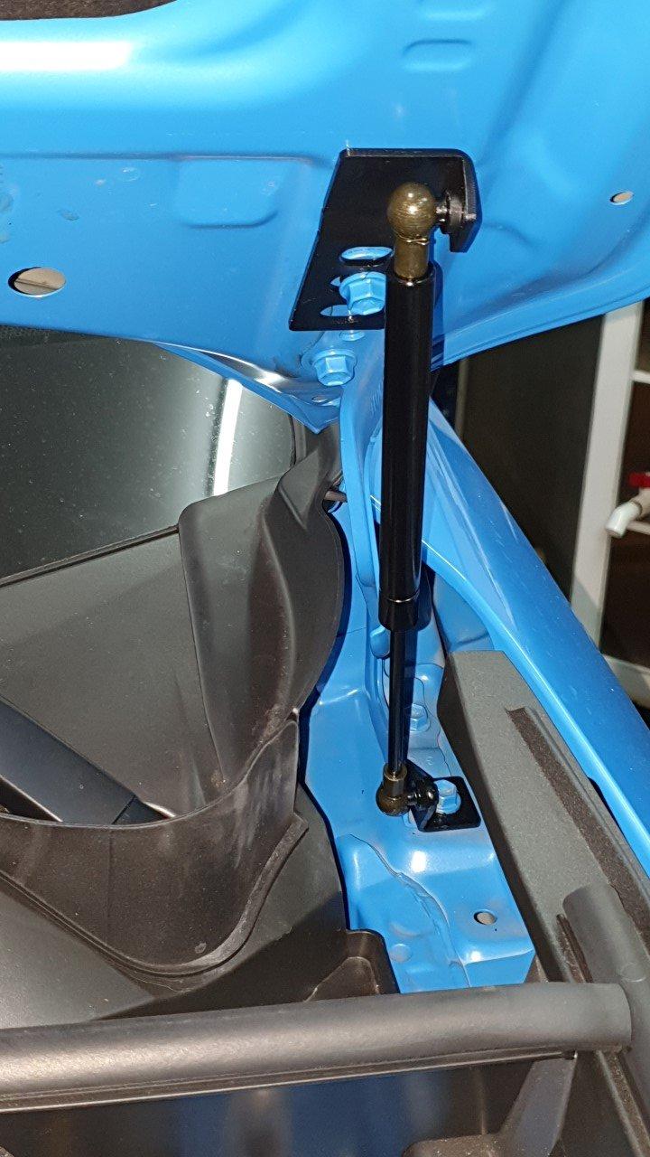 HKPKYK Hood Support Rod,for Toyota RAV4 2019 2020 Pair Car Front Engine Cover Bonnet Gas Spring Shocks Struts Bars Damper Hood Lift Supports Rods Set