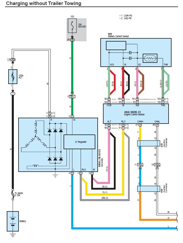 Alternator Wiring Toyota Rav4 Forums