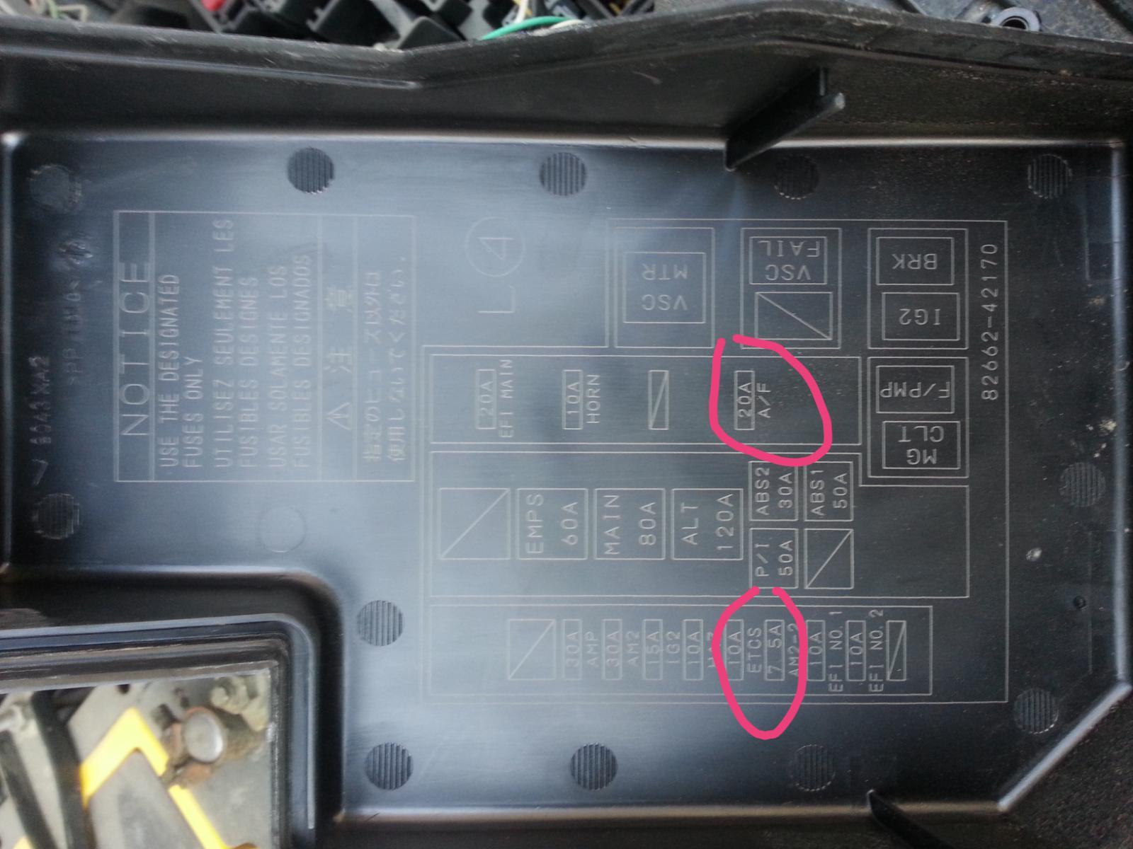 jumper method codes help   Toyota RAV4 Forums