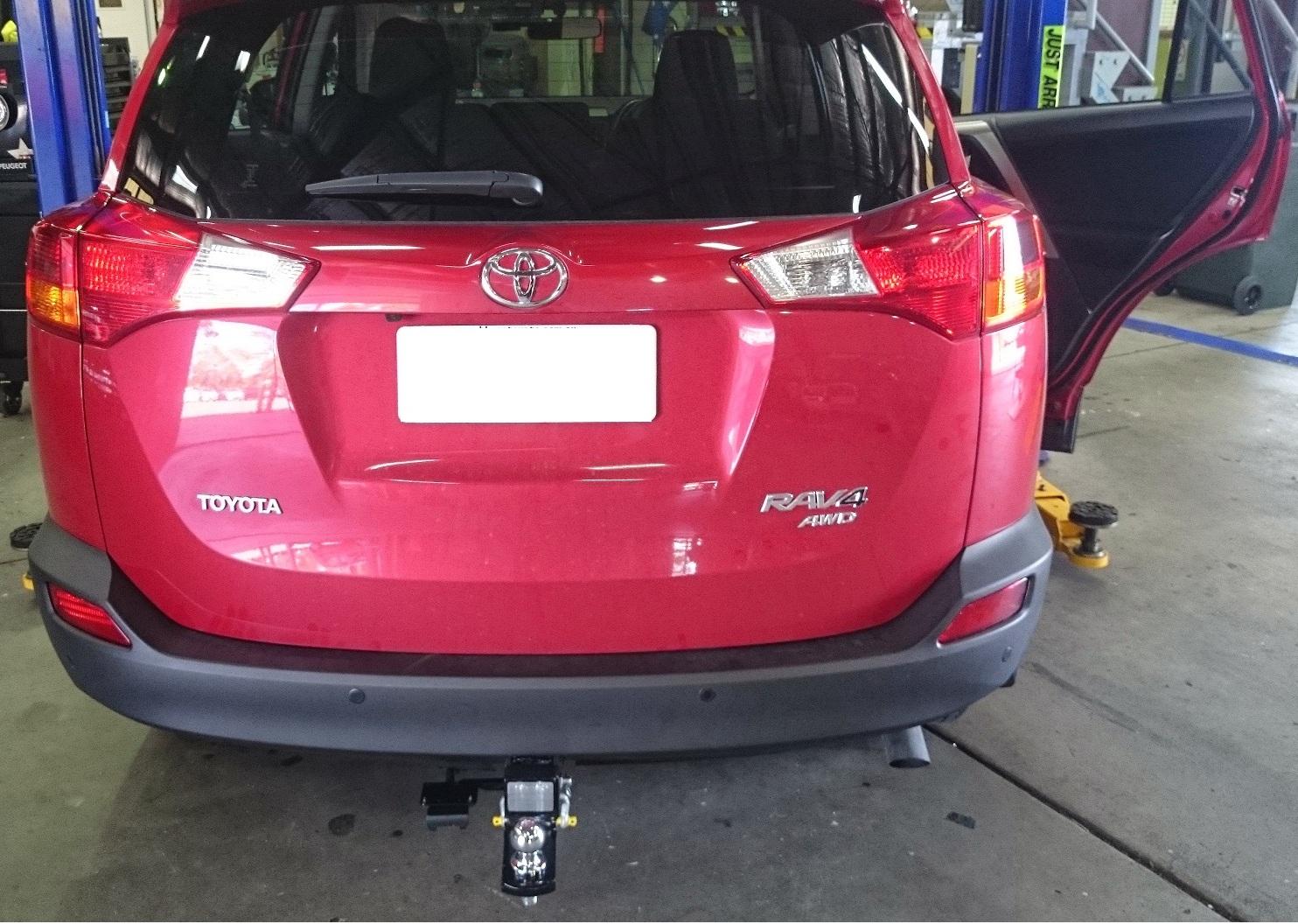 Instruction for installing genuine Toyota towbar (hitch?)   Toyota RAV4  ForumsRAV4 World