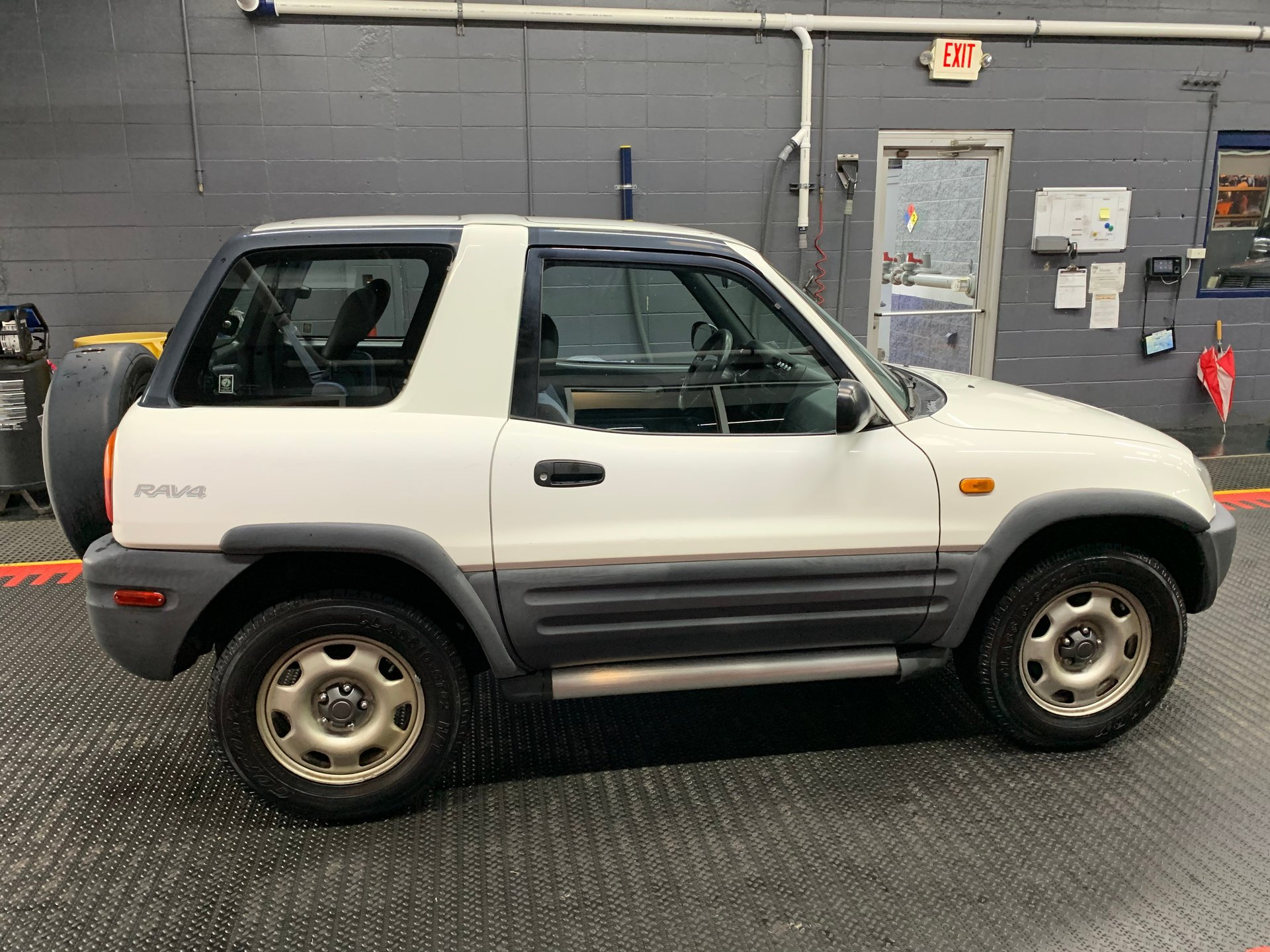 Showcase cover image for 1996 2 door manual RAV4 w/ 64,000 miles