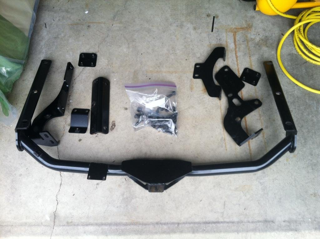 Fs  Toyota Oem Hitch For V6 Tow