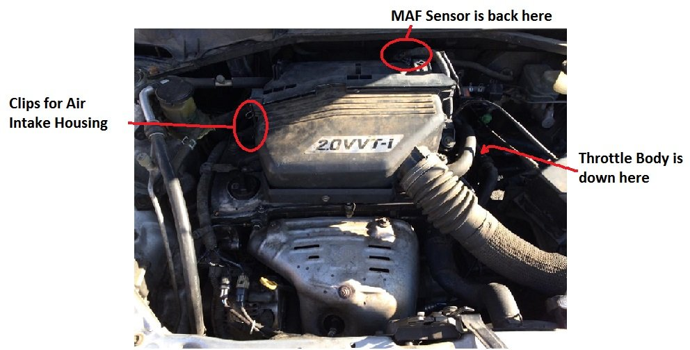 DIY: Clean or Replace MAF (Mass Air Flow) Sensor to Cure Rough Idle