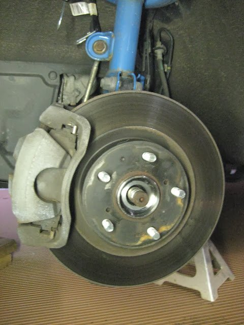 Notes on front hub assembly replacement 4WD V6 | Toyota RAV4 Forums
