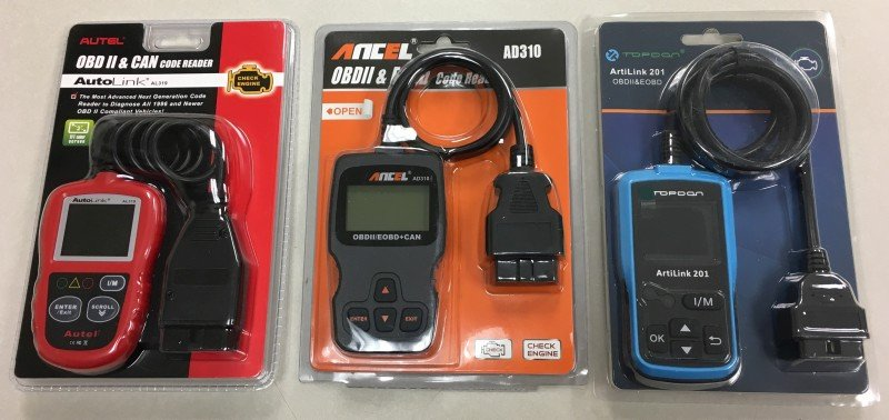 Code Reader Shootout! Three OBDII readers for under $40--How do they