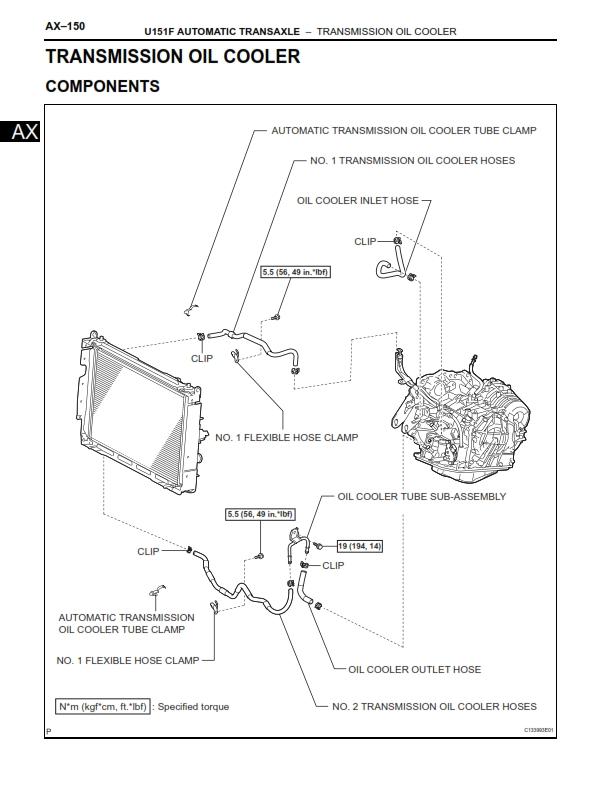 Rav4 Transmission Diagram - All Diagram Schematics on