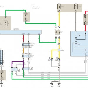 rav4 2006+ front fog lights wiring diagram