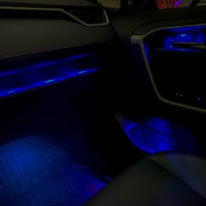 Dash Storage Tray LED Lighting - Right Side